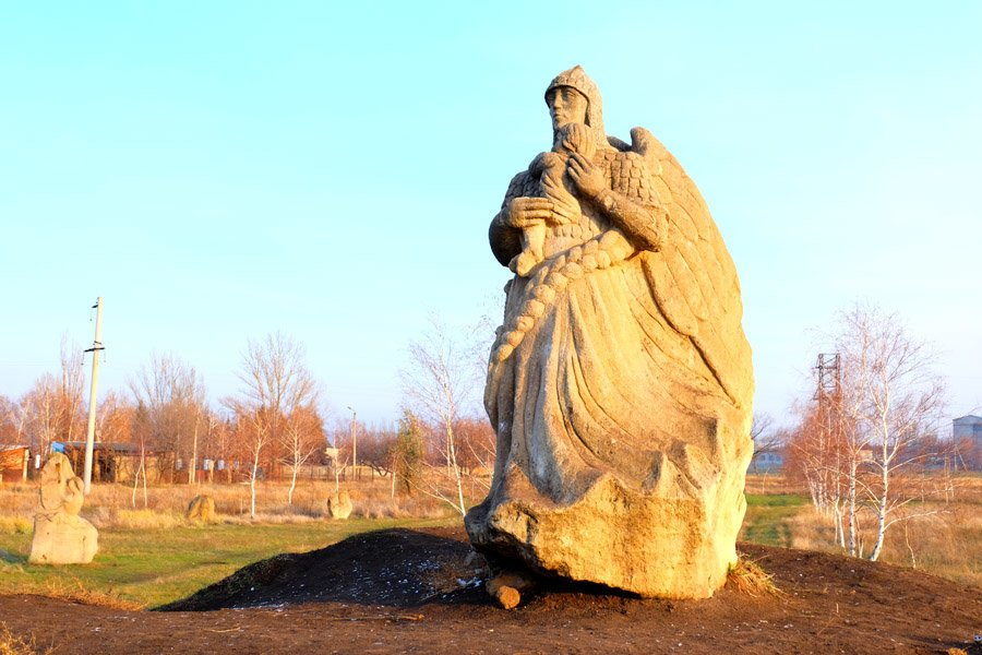 Куда поехать на выходные. Дружковский каток и парк каменных скульптур, фото-6