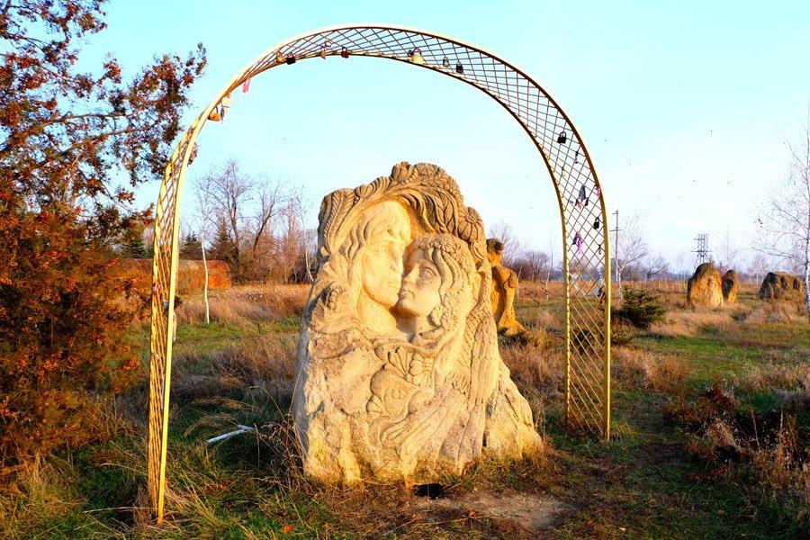 Куда поехать на выходные. Дружковский каток и парк каменных скульптур, фото-4