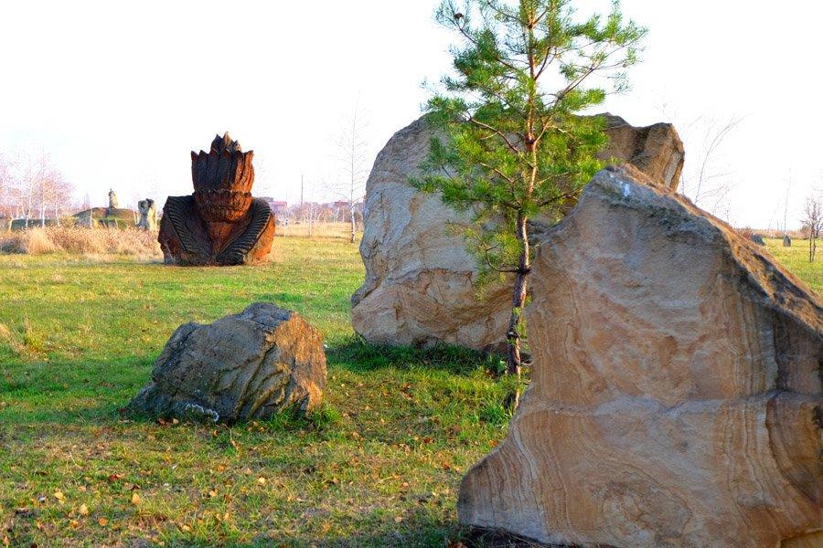 Куда поехать на выходные. Дружковский каток и парк каменных скульптур, фото-9