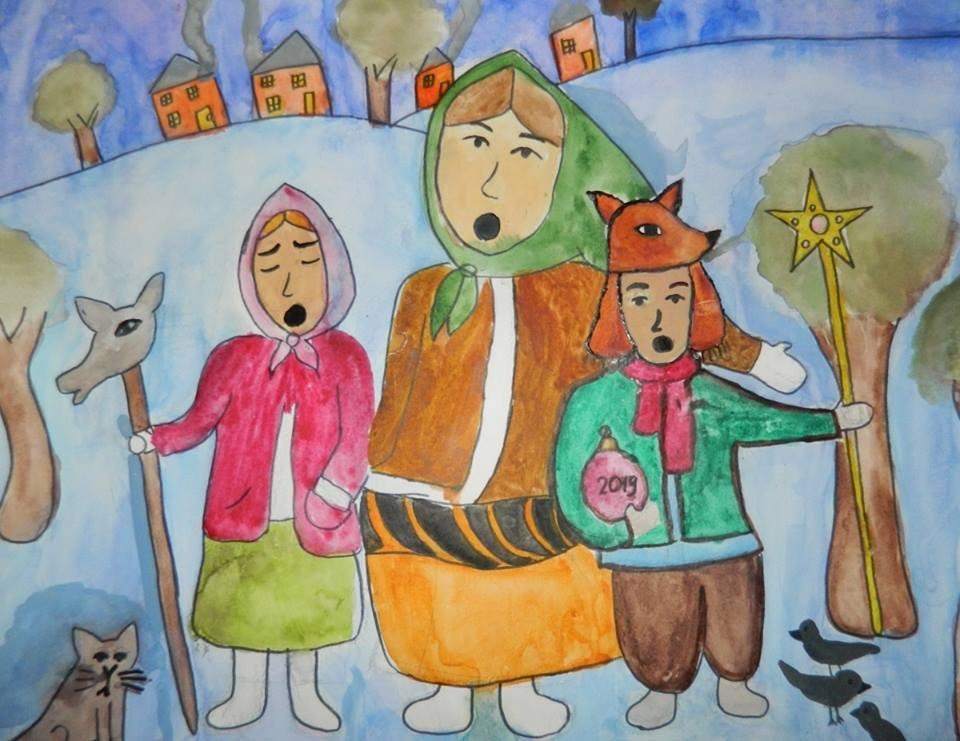 В Дружковке открылась выставка «Рождественский ангел», фото-1