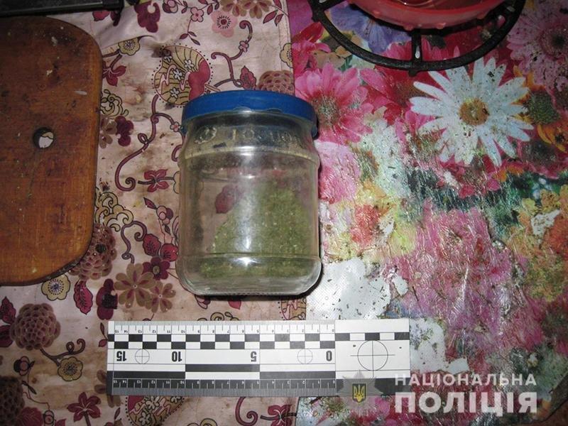 У жителя Дружковки полицейские изъяли наркотики и корпус от гранаты (ФОТО), фото-1