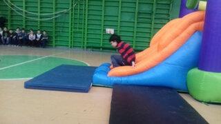 Дружковка: Школьники соревновались на «Веселых стартах», фото-1
