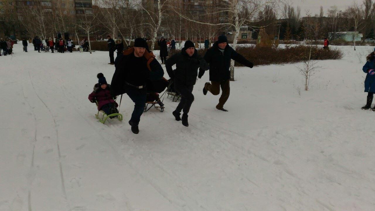 В Дружковке прошли гонки на лыжах и на санках (ФОТО), фото-3