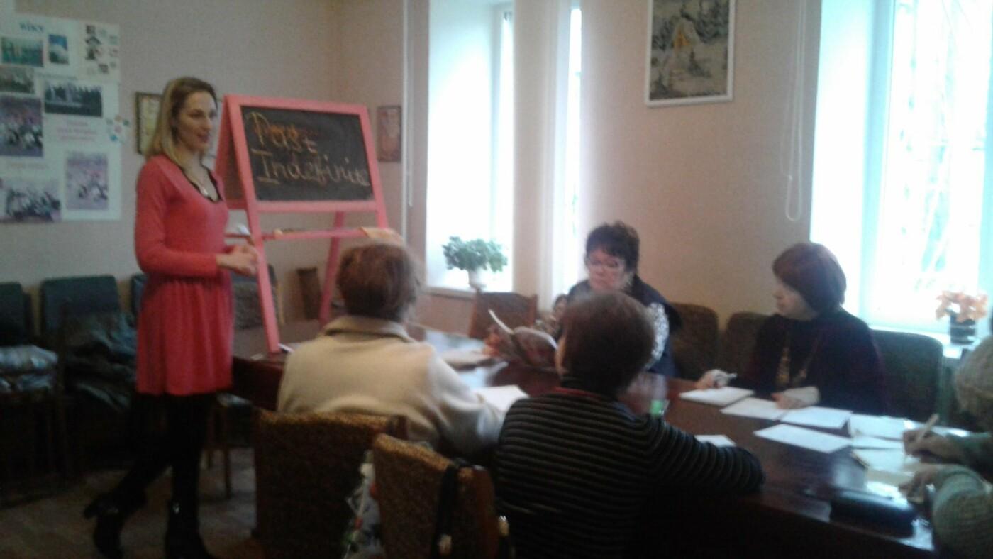 Век живи, век учись: В Дружковском терцентре пенсионеры осваивают английский язык (ФОТО), фото-2
