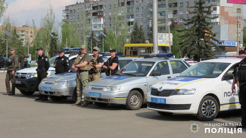 За шесть часов в Дружковке была раскрыта кража, выявлено два нелегала и составлено 45 админпротоколов, фото-2