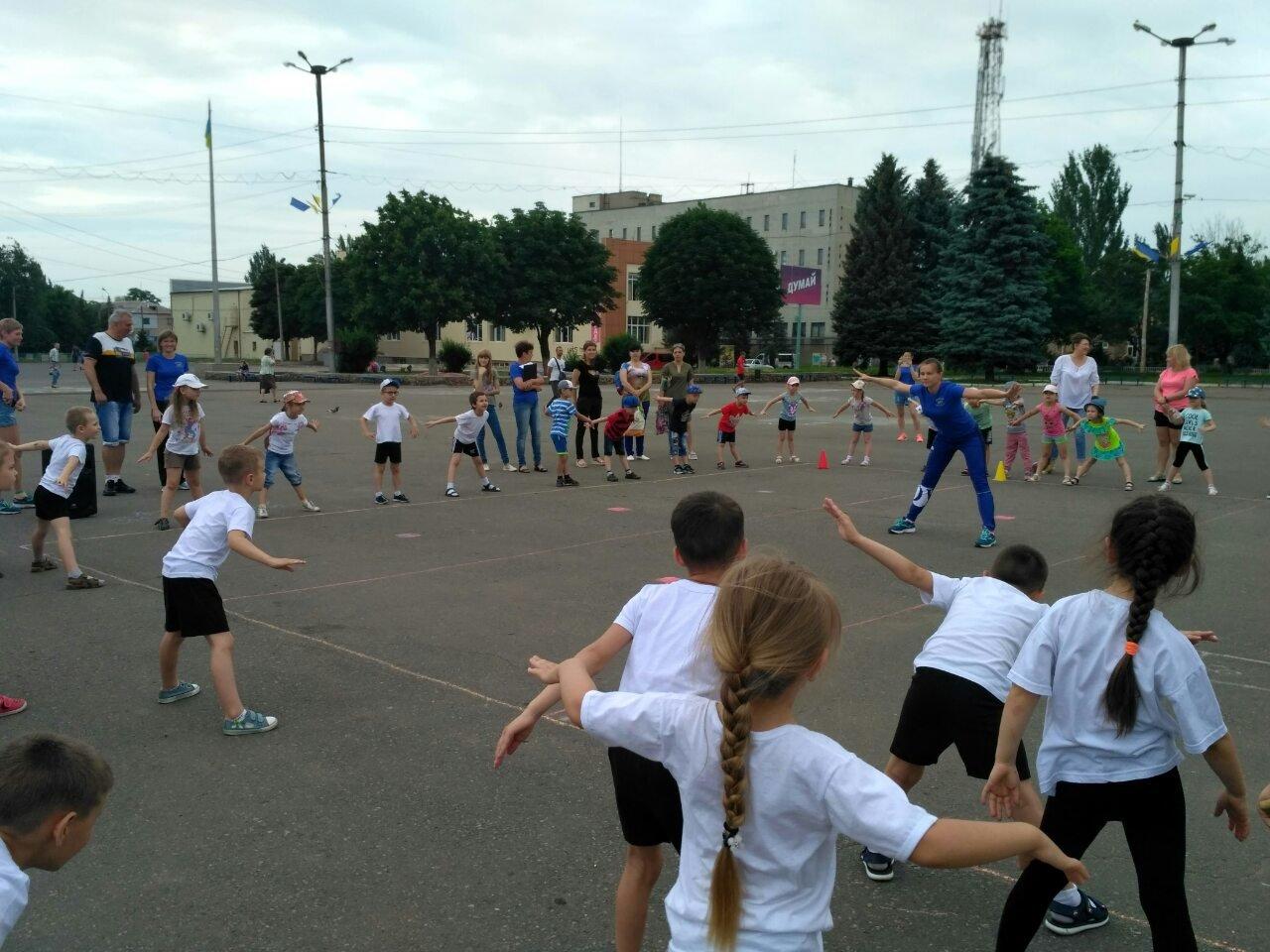 Дружковка: На площади Молодежной прошли «Веселые старты» для дошкольников (ФОТО), фото-2