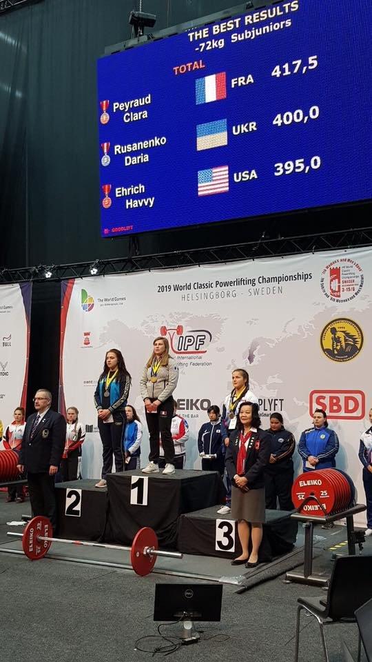 Дружковская спортсменка завоевала серебро Чемпионата мира по пауэрлифтингу, фото-2