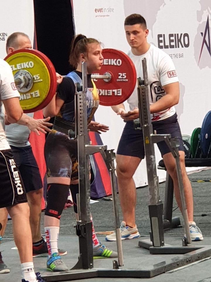 Дружковская спортсменка завоевала серебро Чемпионата мира по пауэрлифтингу, фото-1