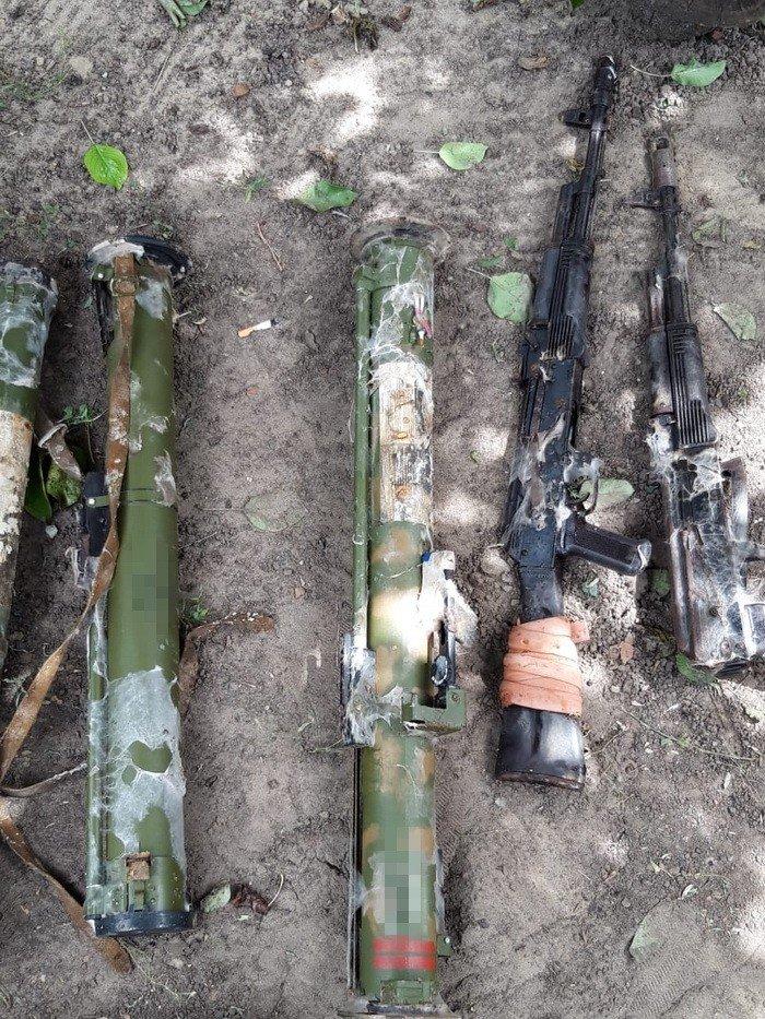 Дружковка: В частном доме оперативники обнаружили и изъяли солидный арсенал (ФОТО), фото-2