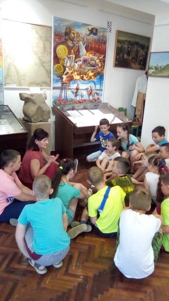 Дружковка: Городской музей посетили почти все воспитанники пришкольных лагерей (ФОТО), фото-6