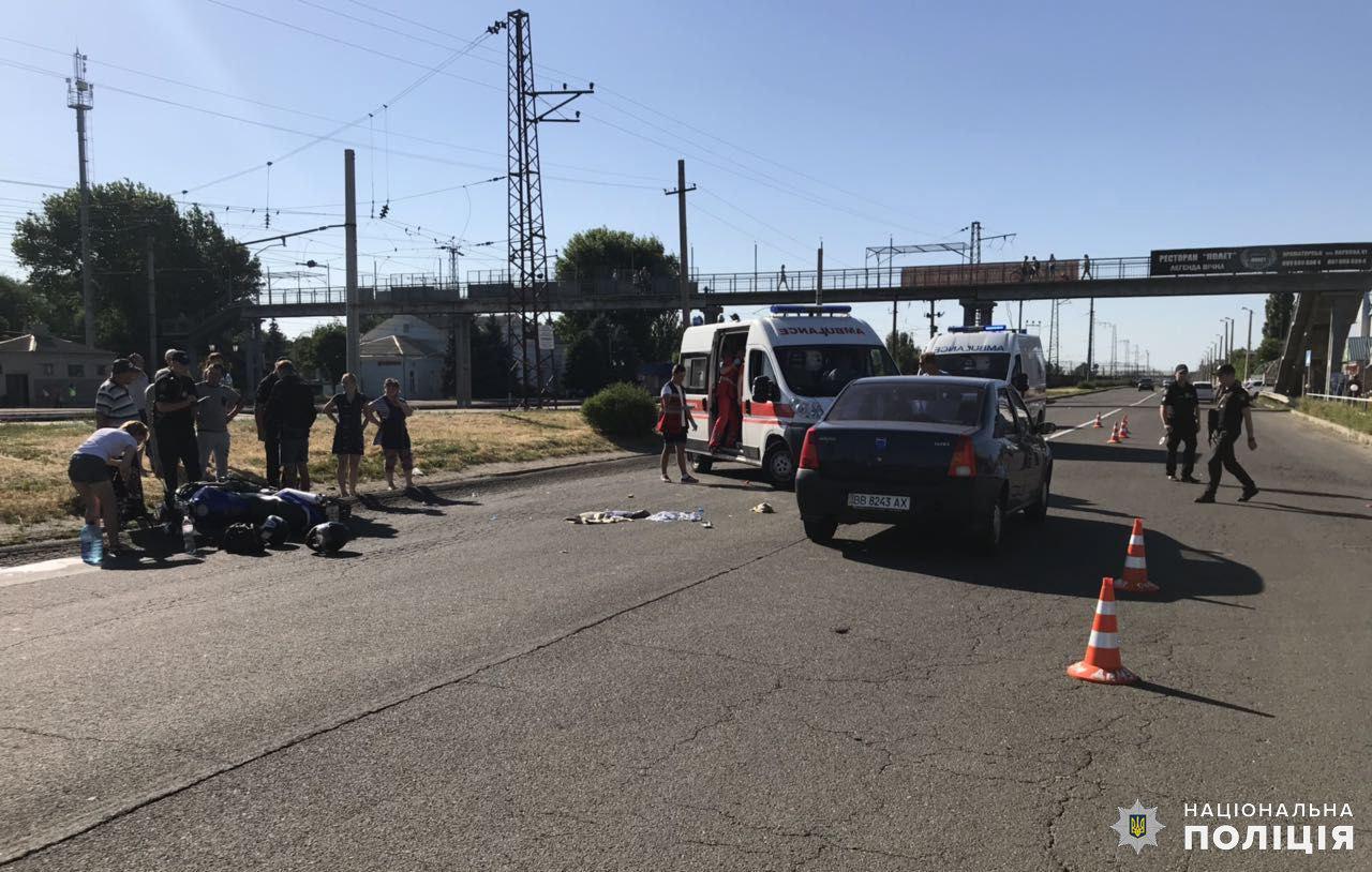 Дружковка: Три человека пострадали в результате ДТП на улице Олексы Тихого (ФОТО), фото-1