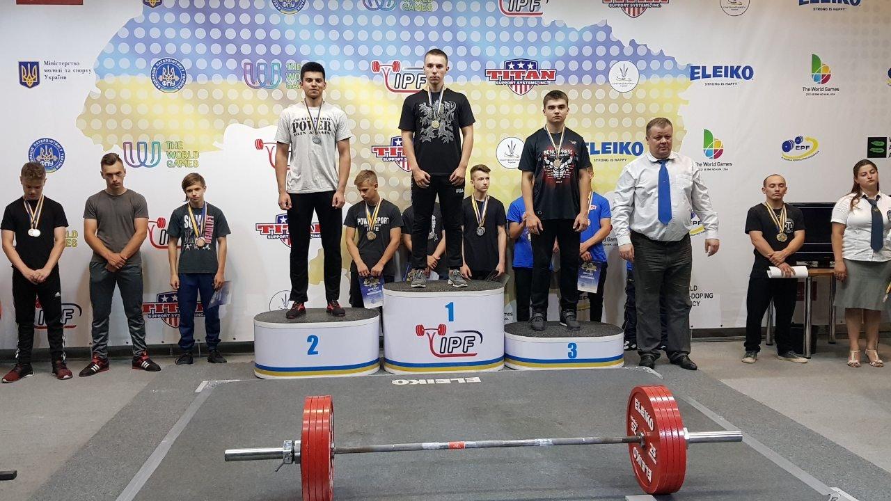 Юные атлеты из Дружковки успешно дебютировали на Чемпионате Украины по пауэрлифтингу (ФОТО), фото-2