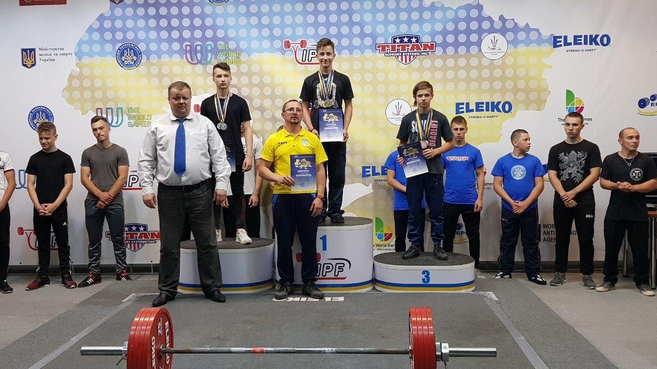 Юные атлеты из Дружковки успешно дебютировали на Чемпионате Украины по пауэрлифтингу (ФОТО), фото-1