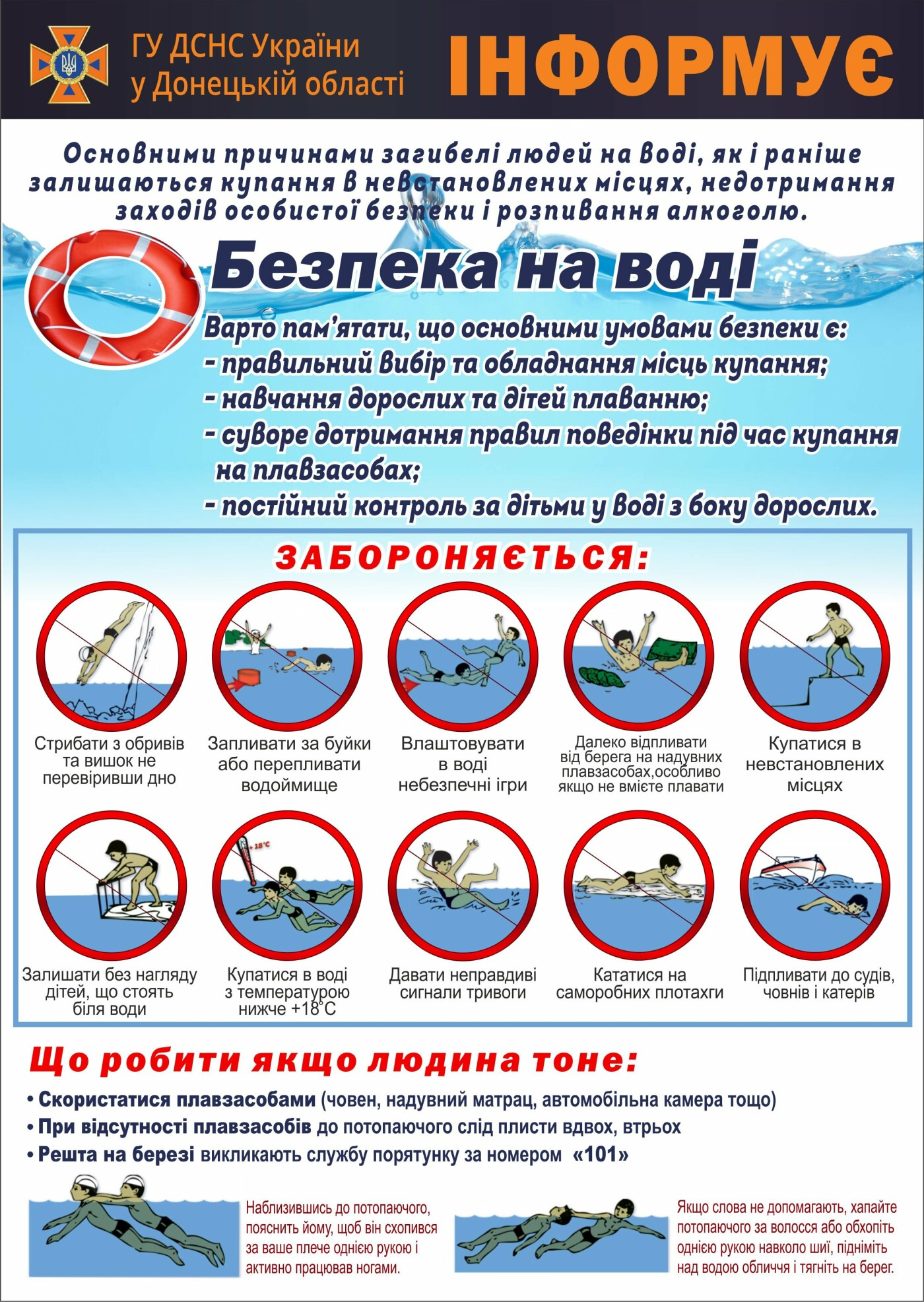 В Донецкой области в июне утонули 8 человек, фото-1