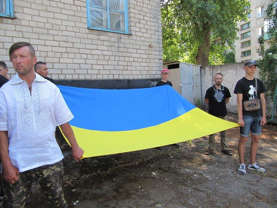 Дружковка: За зданием горсовета открыли музей сопротивления украинского Донбасса (ФОТО), фото-2
