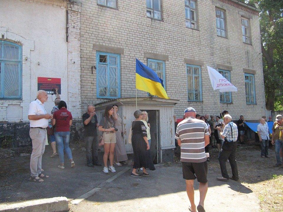 Дружковка: За зданием горсовета открыли музей сопротивления украинского Донбасса (ФОТО), фото-5