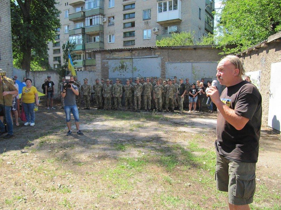 Дружковка: За зданием горсовета открыли музей сопротивления украинского Донбасса (ФОТО), фото-3