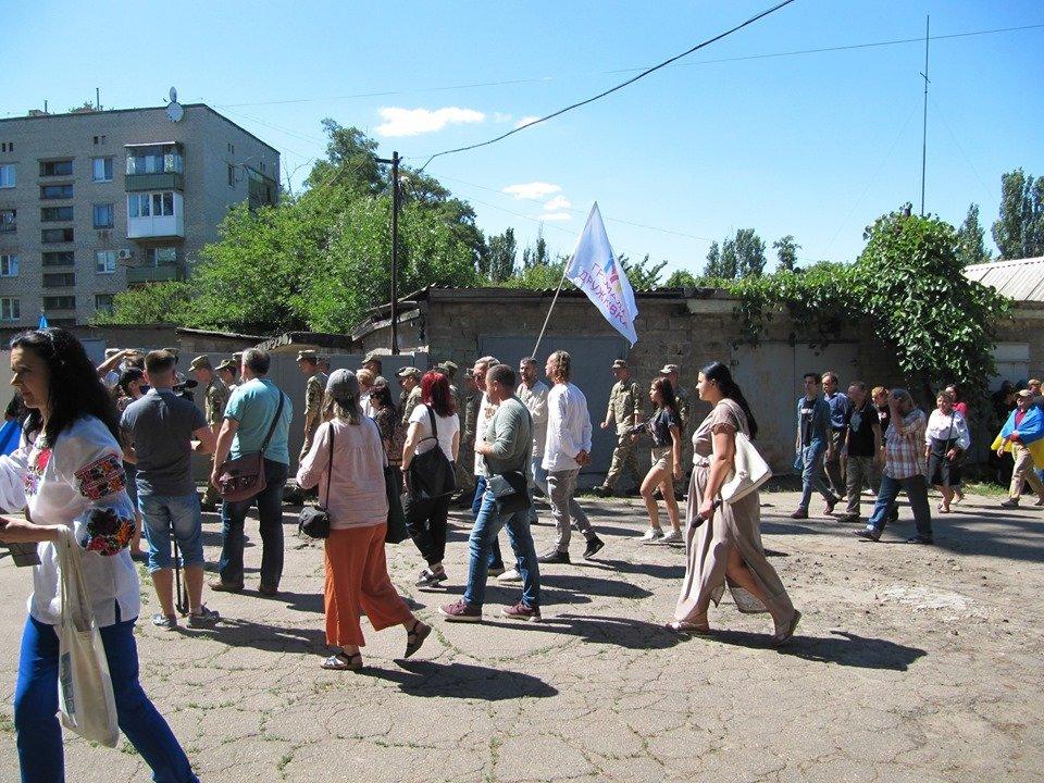 Дружковка: За зданием горсовета открыли музей сопротивления украинского Донбасса (ФОТО), фото-6