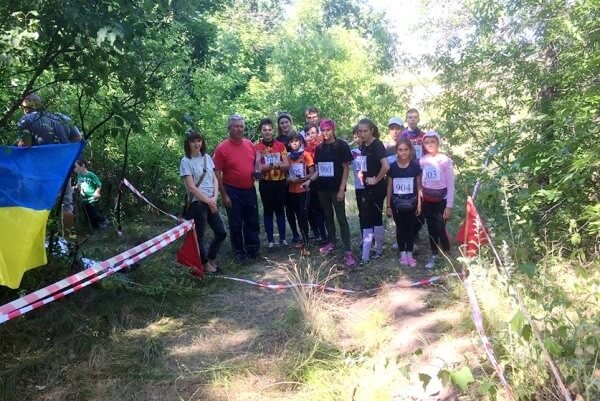 У Дружківці відбувся відкритий чемпіонат Донецької області зі спортивного орієнтування, фото-1