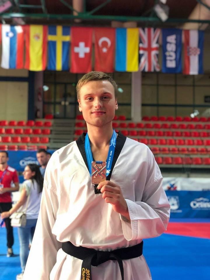 Дружковчанин стал чемпионом Европы по тхэквондо среди студентов (ФОТО), фото-2