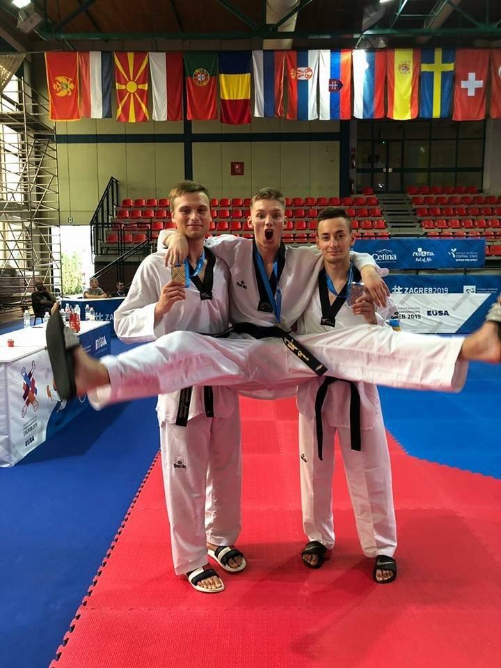 Дружковчанин стал чемпионом Европы по тхэквондо среди студентов (ФОТО), фото-3