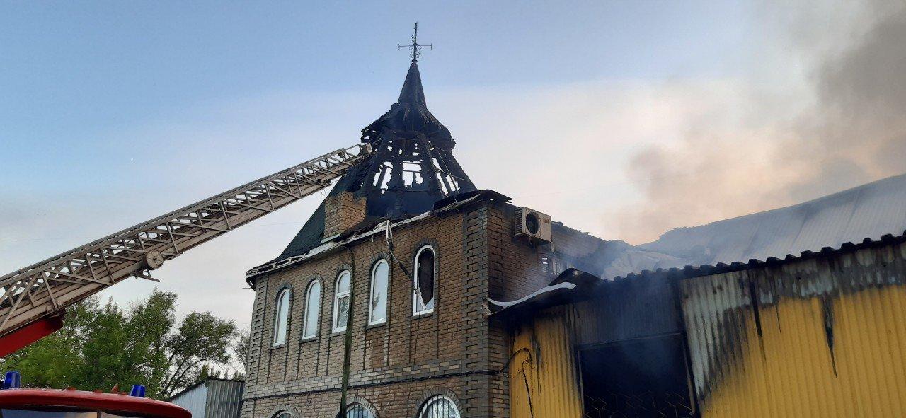 В Дружковке сгорел рынок «Магнат» (ФОТО), фото-2