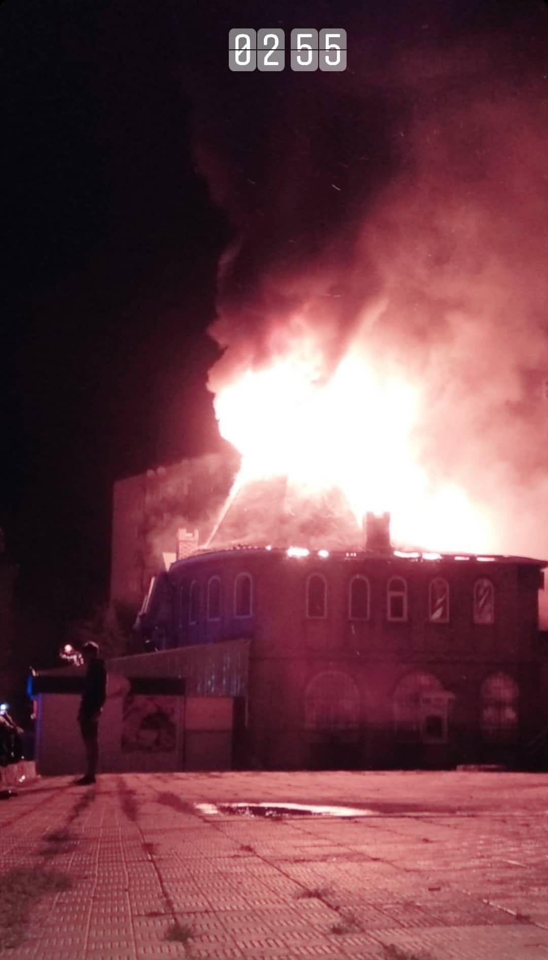 В Дружковке сгорел рынок «Магнат» (ФОТО), фото-1