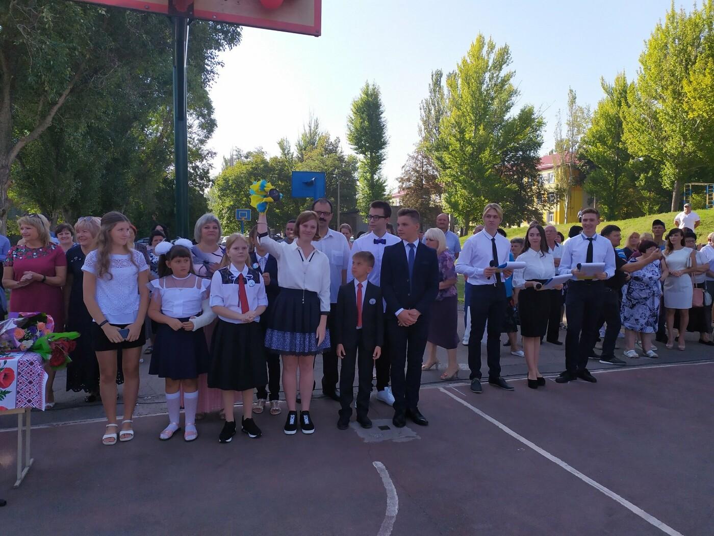 Экс-мэр Дружковки уже в статусе народного депутата Украины поздравил сегодня школьников с Днём знаний, фото-2