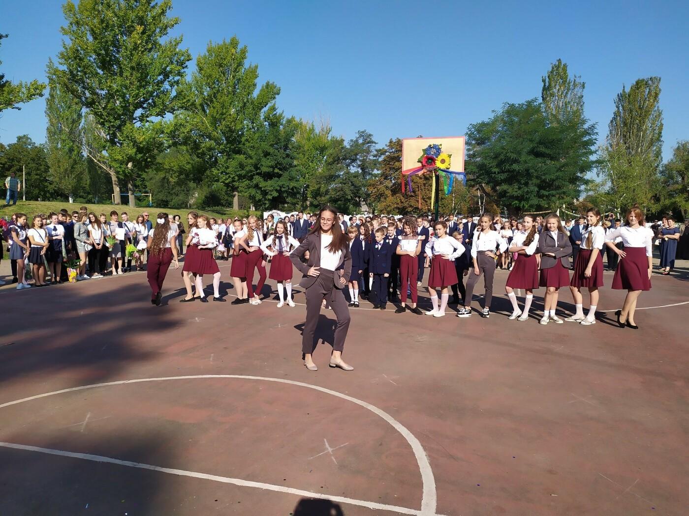 Экс-мэр Дружковки уже в статусе народного депутата Украины поздравил сегодня школьников с Днём знаний, фото-3