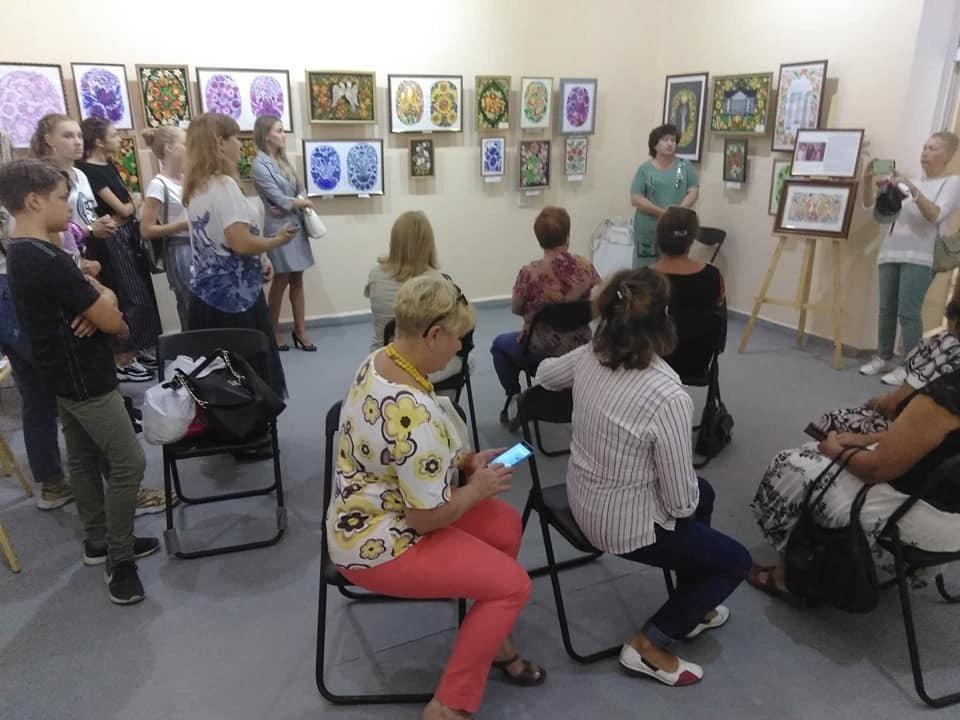 Дружківка: У залі обласного художнього музею відкрилась персональна виставка (ФОТО), фото-1