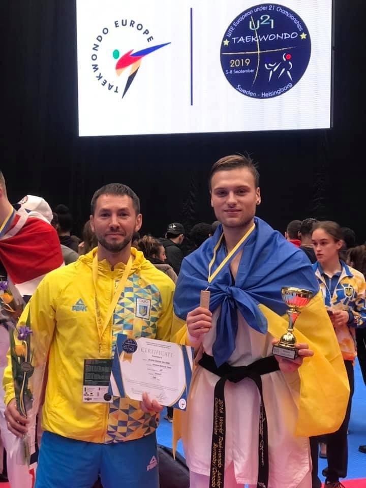 Дружковчанин Андрей Гарбар сегодня завоевал золото чемпионата Европы по тхэквондо в Швеции, фото-2