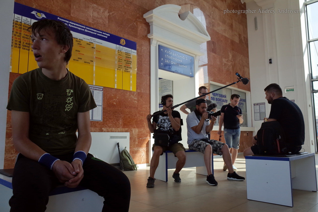 Поезд Константиновка-Киев войдет в историю - продолжаются съемки документального фильма , фото-1