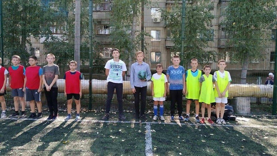 Дружковка: В борьбу за победу в футбольном турнире ОШ №12 вступили пяти- и шестиклассники (ФОТО), фото-1