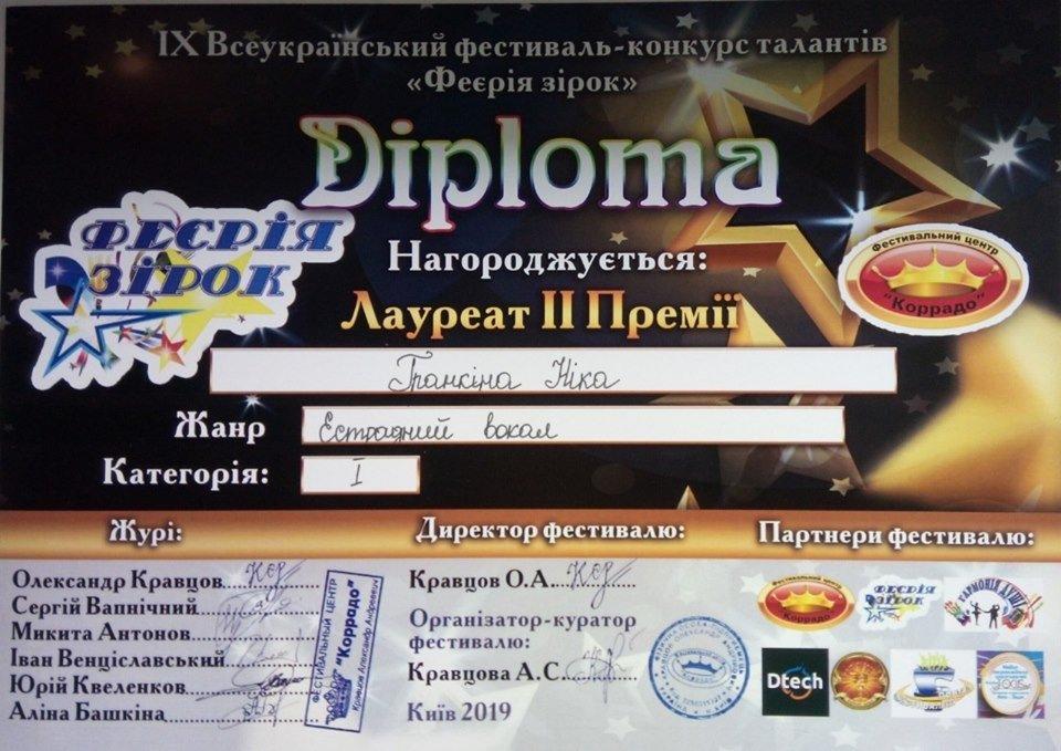 Воспитанники Дружковского ЦДЮТ получили награды фестиваля искусств и конкурса талантов, фото-3