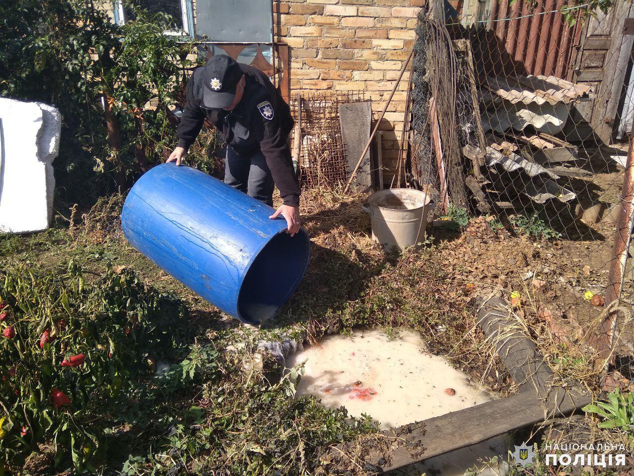 Дружковка: В поселке Яковлевка полицейские окропили землю брагой (ФОТО), фото-1