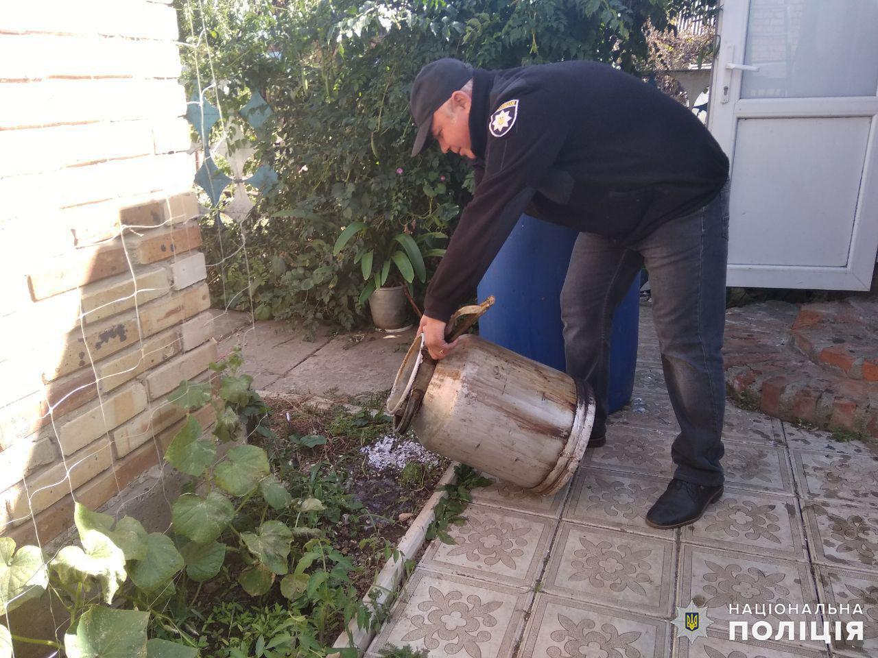 Дружковка: В поселке Яковлевка полицейские окропили землю брагой (ФОТО), фото-4