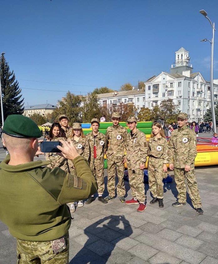 Учні дружківських шкіл взяли участь у обласному козацькому квесті (ФОТО), фото-3