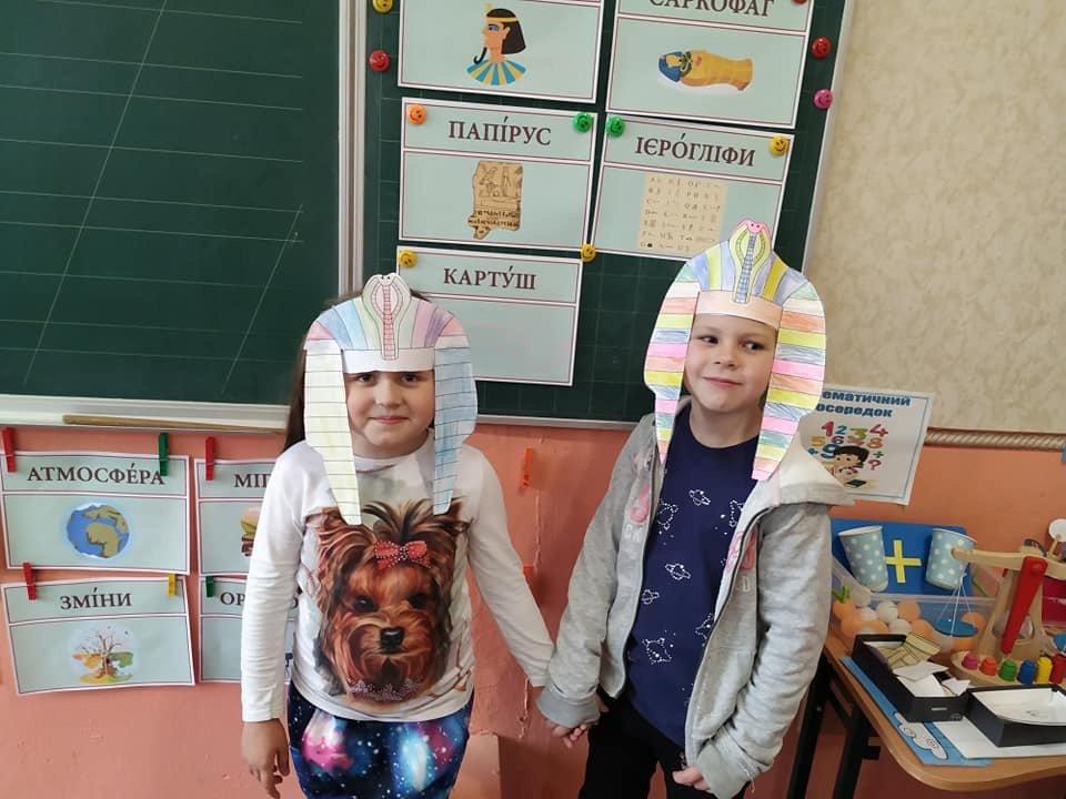 В Алексеево-Дружковском УВК №14 второклассники на время стали фараонами , фото-1