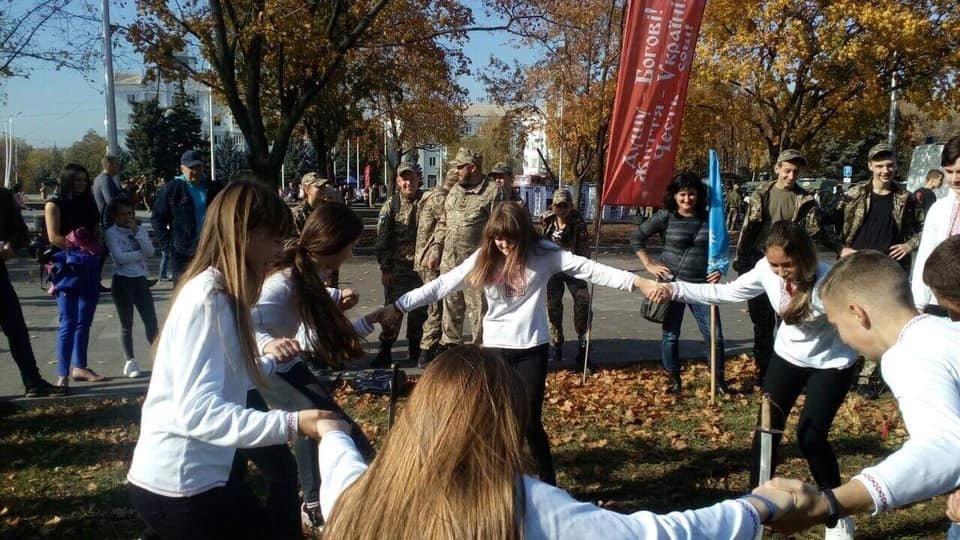 Учні дружківських шкіл взяли участь у обласному козацькому квесті (ФОТО), фото-2