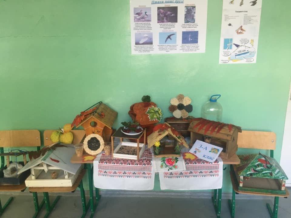 Птичек жалко: Дружковские школьники соорудили «зимние столовые» для пернатых (ФОТО), фото-5
