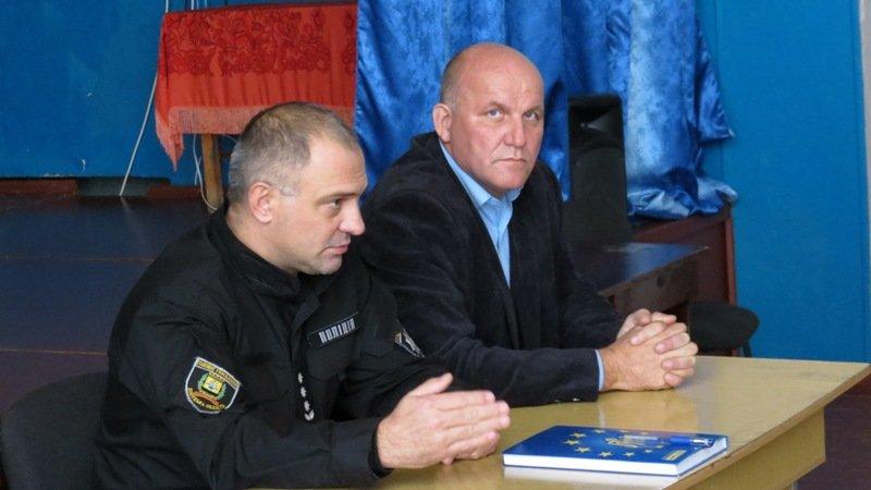 Глава Дружковской полиции сегодня провел встречу с жителями посёлка Райское, фото-1