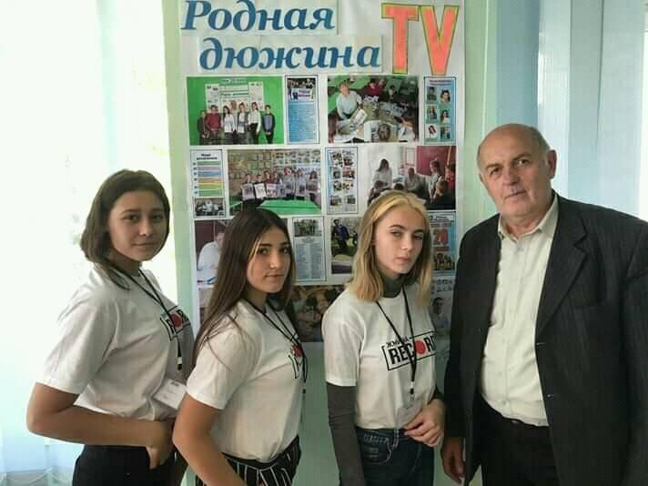 Дружковка: В ОШ №12 торжественно отметили 20-летие школьной газеты (ФОТО), фото-2