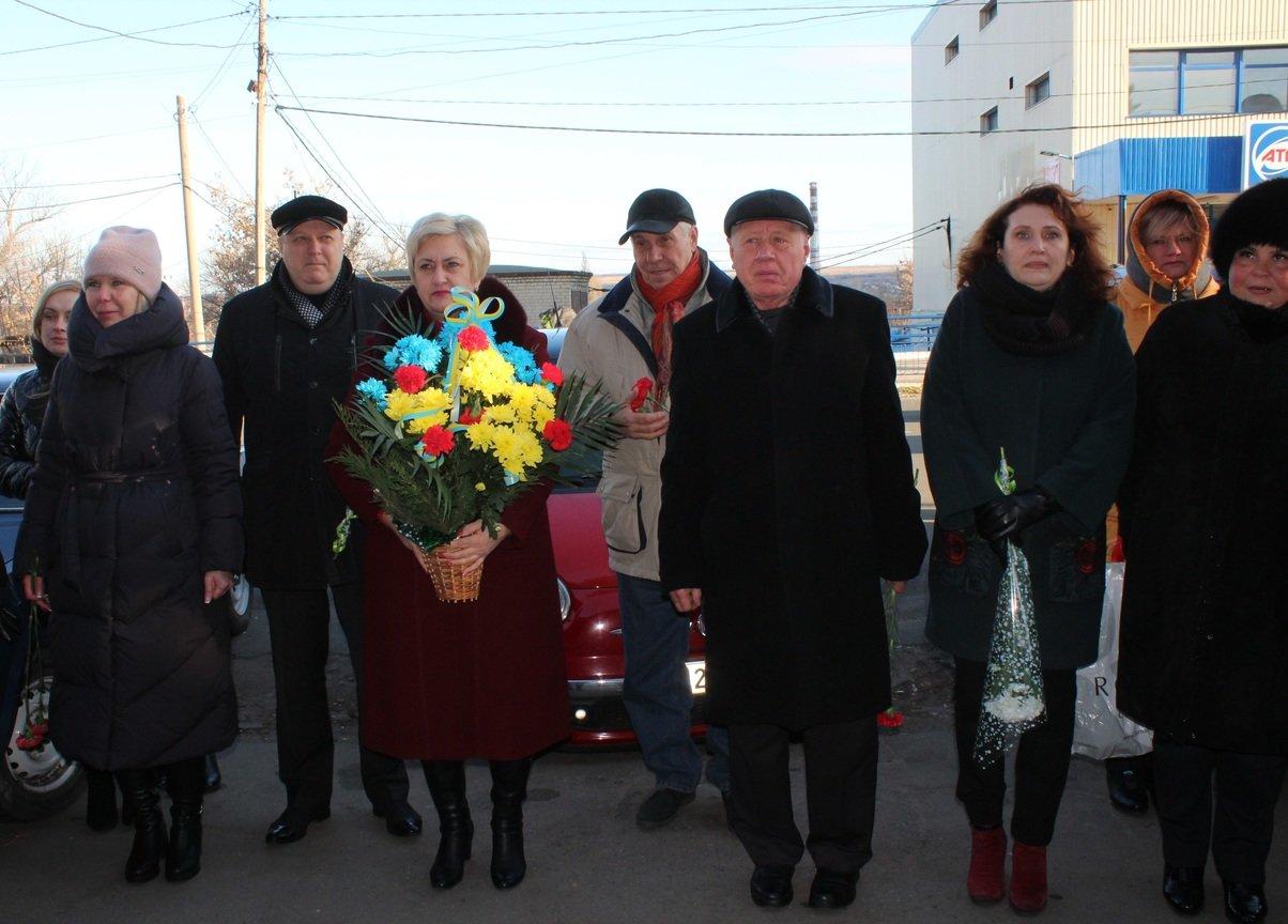 День Гідності та Свободи в Дружківці сьогодні відзначили покладанням квітів (ФОТО), фото-1