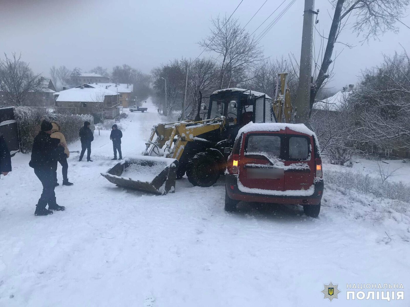 Итог первого снежного дня в Дружковке - три ДТП, фото-4
