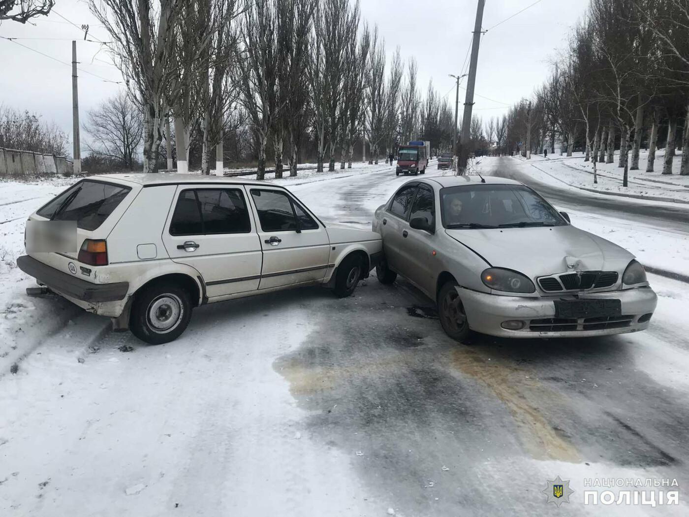 Итог первого снежного дня в Дружковке - три ДТП, фото-3