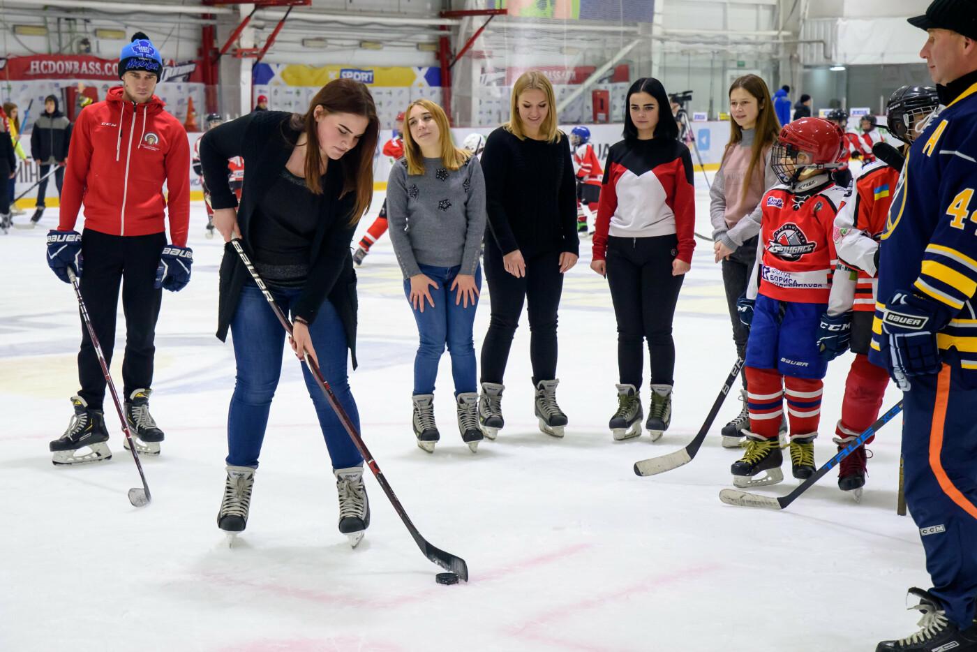 Дружковка: На ледовой арене «Альтаир» звёзды хоккея провели тренировку и мастер-классы для всех желающих (ФОТО), фото-2