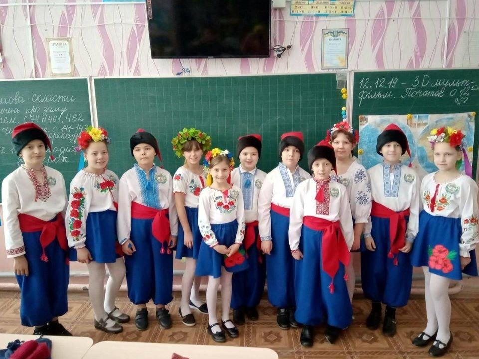 Дружківка: У школі №12 визначилися призери конкурсу строю та пісні (ФОТО), фото-5