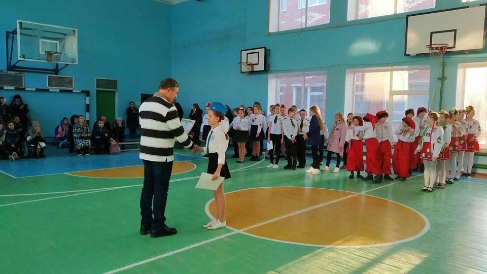 Дружківка: У школі №12 визначилися призери конкурсу строю та пісні (ФОТО), фото-6