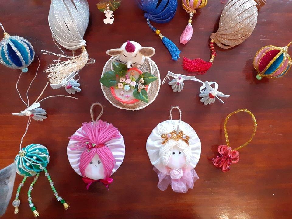 В Дружковке для пенсионеров провели мастер-класс по изготовлению праздничных игрушек (ФОТО), фото-2