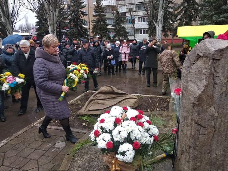 В Дружковке сегодня возложили цветы к памятному знаку героям-чернобыльцам, фото-2